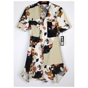 3.1 Phillip Lim for Target Dresses - 3.1 Phillip Lim Target Floral Printed Shirt Dress